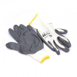 Rękawice NITRYL szare  445...