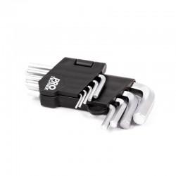 Klucze imbusowe CV 1.5-10mm...